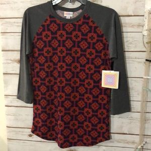 """LuLaRoe """"Randy"""" T-Shirt Top. Size XS. New with Tag"""